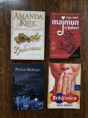 Pre - Srbija: KnjigeU odličnom stanju, očuvane.Cena - dogovor Za još knjiga