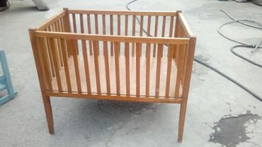 Детская мебель в Кок-Ой: Манеж продаю или меняю на курей