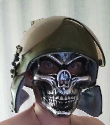 3129 объявлений: Военный шлем пилота . Металл. Или фанатам PABG