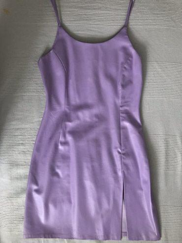 Od-skaja - Srbija: Haljina od skaja. Vel. MDuzina haljine sa bratelama - 89 cm.Obim grudi
