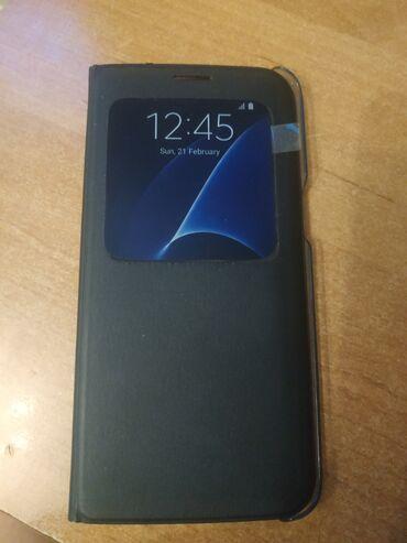 Продаю Чехол для Samsung galaxy s7 Edge Flip Cover почти новый в