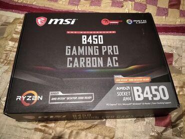 Материнская плата MSI B450 Gaming Pro Carbon AC (WiFi) - в отличном