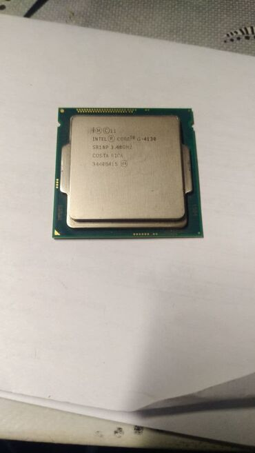 Процессор Intel® Core™ i3-4130 3 МБ кэш-памяти, тактовая частота 3,40