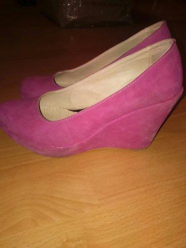Cipele broj 38,antilop,iz turske,kao nove - Smederevo
