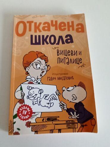 Knjige, časopisi, CD i DVD | Subotica: Knjiga OTKACENA SKOLA