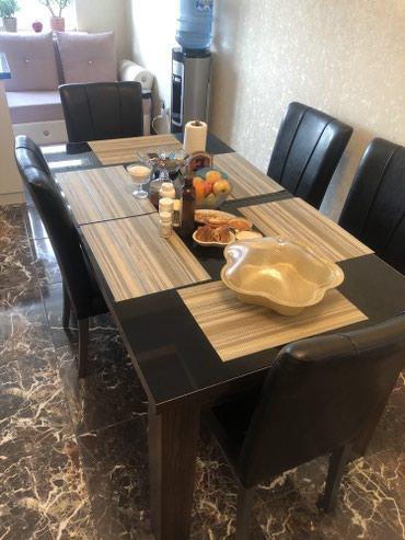 Продаю стол и стулья в идеальном в Бишкек