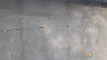 Охота и рыбалка - Б/у - Кара-Балта: Продаю спиннинг готовый Crocodile 240 Цена 950 мести с катушка