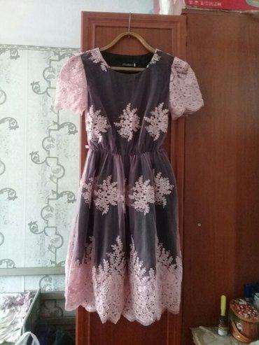 Платье 44 размер. одела один раз. в Кок-Ой