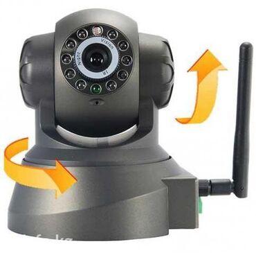 Ip камеры 11 9 wi fi камеры - Кыргызстан: IP камера видеонаблюдения Wi-Fi (Вай-Фай) поворотная с ночными LED