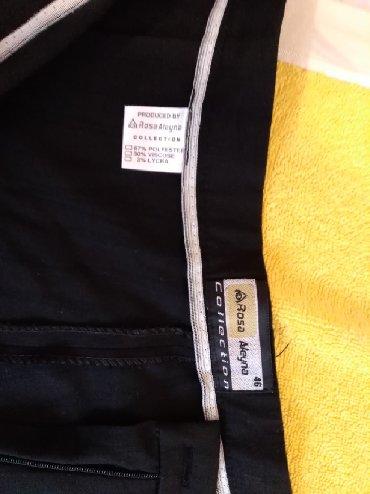 Pantalone tifany kroj - Srbija: Pantalone klasican, ravan kroj, jako lepe, bez ostecenja, nosene dva