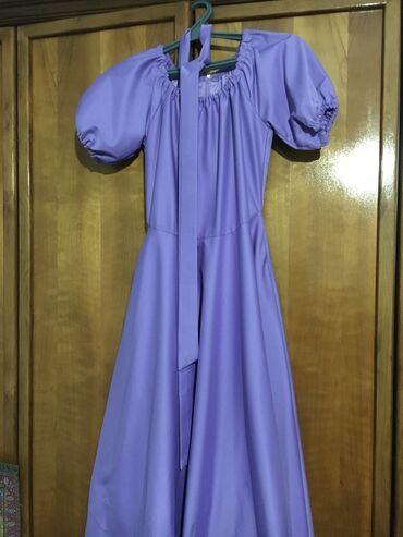 вечернее платье до колен в Кыргызстан: Платье нарядное, вечернее. Размер S-M. На рост в 170-173 см длина - ни