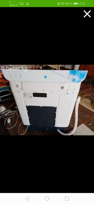 279 объявлений   ЭЛЕКТРОНИКА: Полуавтоматическая Стиральная Машина Artel 7 кг