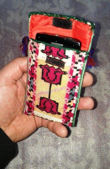 Чехлы для телефонов в национальном стиле. полностью ручная вышивка. в Душанбе - фото 4