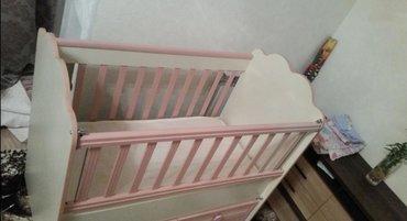 Продам детскую кроватку для девочки. С матрацом