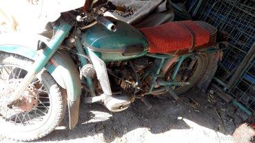 мотоцикл урал на ходу состояние отличное тянет на этой тележки ( брычк в Кемин