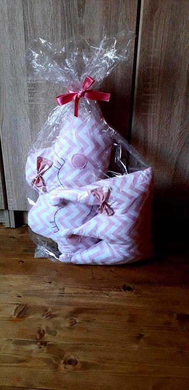 Ukrasni jastuci,100%pamuk antialergijsko punjenje.moze za krevetac ili - Beocin