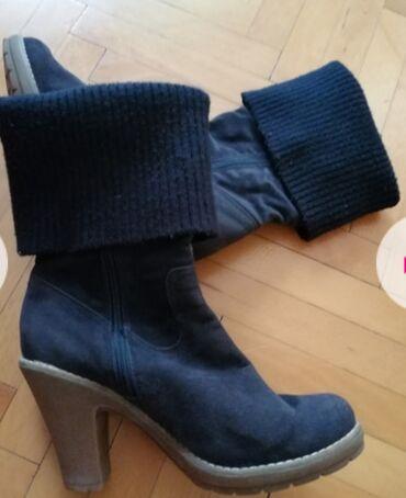 Cizme od velura, 39