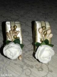 Prstencici za salvete pakovanje po 6 kom 300 din  i 12 kom. 500 din - Kostolac