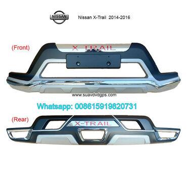 Nissan X-Trail Car bumpersModel SUV-N603ABUMPER GUARD For Nissan