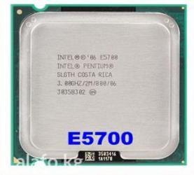 Процессор Intel Pentium E5700 - 3.00 GHz. Двух-ядерный процессор для в Бишкек