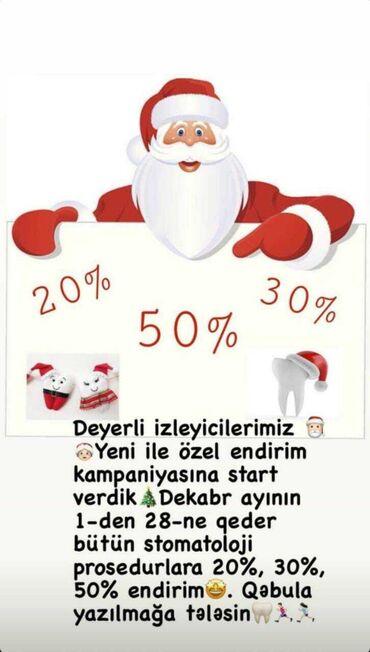 вакансии ассистента стоматолога в Азербайджан: Qara Qarayev metro yaninda vip dental klinika tam steril seraitde