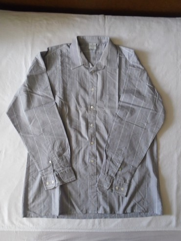 Poluobim-struka - Srbija: Muška košulja dugih rukava,veličine 41a mere su: poluobim širine 61 cm