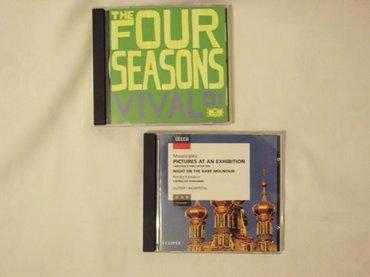 Audi-coupe-2-at - Srbija: Klasika - original cd klasicne muzike malo koristen ocuvan kao