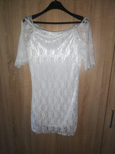 Bela cipkasta haljina - Kragujevac