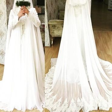 Свадебное платье с бантом - Кыргызстан: Свадебные платья