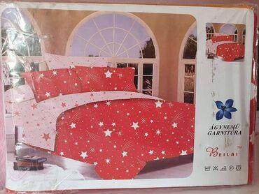 Pamucna posteljina100% pamukSet sadrzi:7 delova:Jorganska navlaka