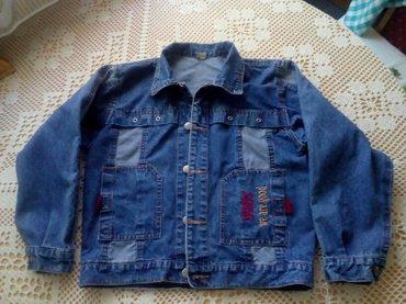 Gornjak za dečaka veličina 12 POKLON majica veličina 10 pamuk 100% - Vrbas