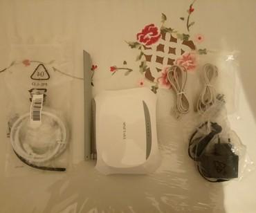 adsl - Azərbaycan: Tp-Link Modem, wifi router. ADSL üçün. Əla vəziyyəttdədir. Az işlənib
