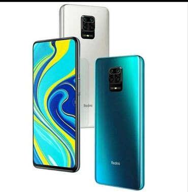 Новый Xiaomi Redmi Note 9S Голубой