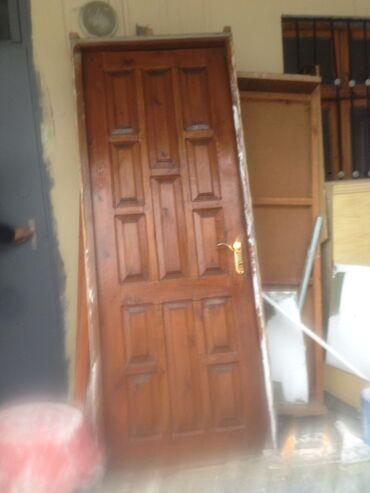 islenmis taxta satilir в Азербайджан: Двери | Дерево