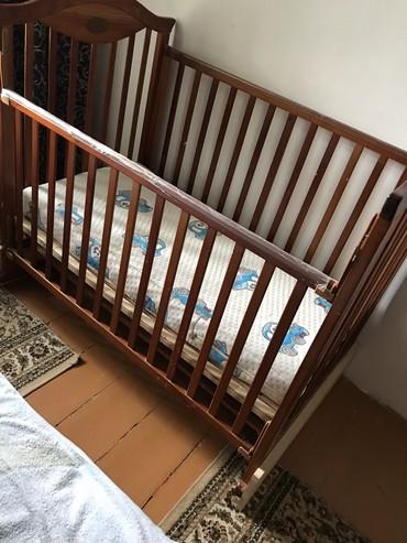 Продаю кровать  детскую 0.6*1.20 с в Бишкек