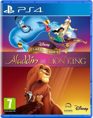 Martin lion - Azərbaycan: Ps4 üçün aladdin and the lion king oyun diski. Tam orijinal