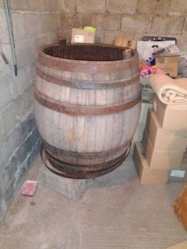 Kuća i bašta - Loznica: Kaca od drveta za spravljanje vina ili komine za rakiju kapaciteta 500