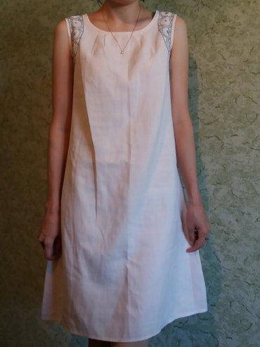 Продаю платье размер S-M, ткань лен, в жару самый раз в Бишкек