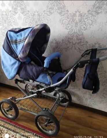 Детский мир - Талас: Продаётся детская коляска зима лето отл сост. Коляска находится в