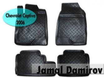 Chevrolet captiva 2006 üçün poliuretan ayaqaltılar. в Bakı