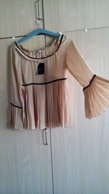 Стильная блузка кофейный цвет ,KOTON L размер в Бишкек