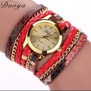 Ženski satovi narukvice Boje kao sa slike: crna, plava, braon, zlatna, - Nis - slika 9