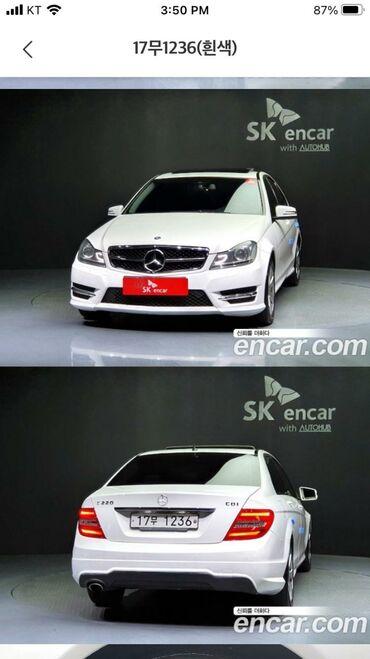 Mercedes-Benz C 200 2 l. 2011 | 156000 km