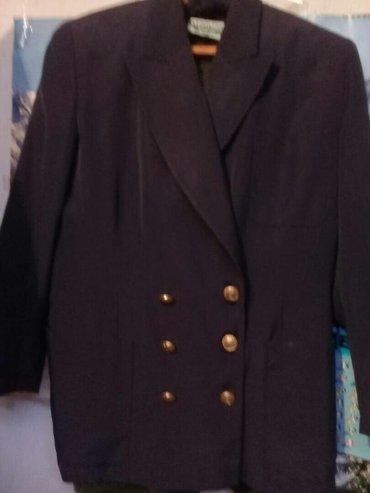 синий пиджак женский в Кыргызстан: Пиджак женский. р. 48