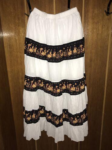 Prelepa vintage dugacka suknja,sa gumom na struku. Nova potpuno. Ima p