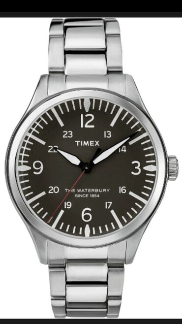- Azərbaycan: Gümüşü Kişi Qol saatları Timex