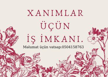 Əməkdaş axtarışı (vakansiyalar) - Azərbaycan: Şəbəkə marketinqi məsləhətçisi. İstənilən yaş. Natamam iş günü