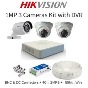 Bakı şəhərində 3 kamera hd 1 mp paket