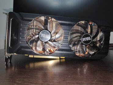 Комплектующие для ПК - Бишкек: Продаю Видеокарту Geforce 1070Ti 8Gb 256BitPalit DualДвухкулерная