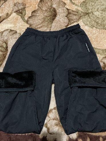alfa romeo 90 в Кыргызстан: Штаны из плащевки с мехом, новые, размер 56, на рост 1,80, 1,90